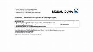 Signal Iduna Krankenversicherung Rechnung Einreichen : bu der signal iduna mit verk rzten gesundheitfragen pkv bu av blog ~ Themetempest.com Abrechnung