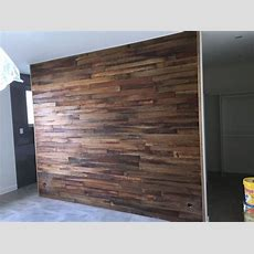 Local Made Recycled Hardwood Timber Feature Wall Panel