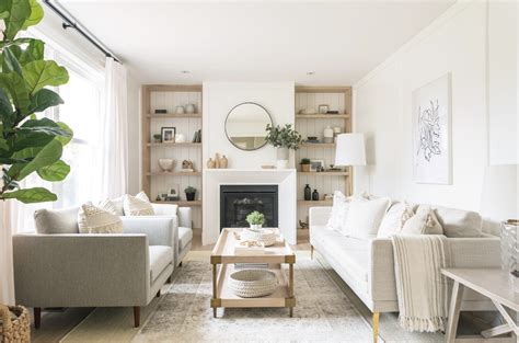 serene natural  neutral living room  coco