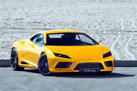 sport car garage lotus elan