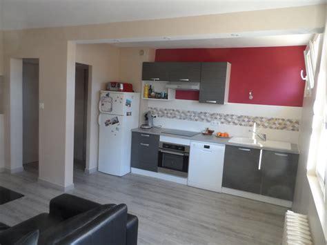 cuisine ouverte sur entr馥 rénovation d un appartement t2 à toulouse bruno geli architecte dplg à labège