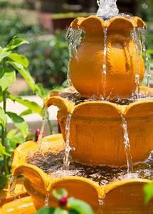 Garden, Fountain, Photos