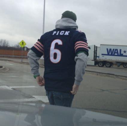 packers fan  tremendous jay cutler jersey picture