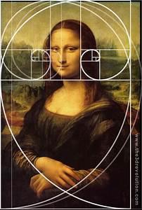 Mona Lisa And Fibonacci Sequence