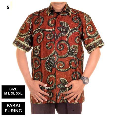 Kain batik halus semi sutra sutera motif kembang bunga padi. Jual SALE!! Kemeja Batik Pria Semi Sutra Purnama - Pakai ...