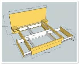 Queen Platform Bed Frame Plans