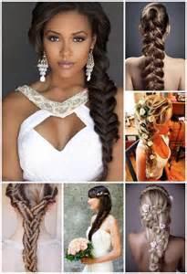 coiffure mariage tresse coiffures pour un mariage de printemps