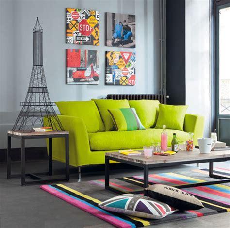 peinture pour canapé en tissu canapé tissu vert anis 3 places dublin maisons du monde