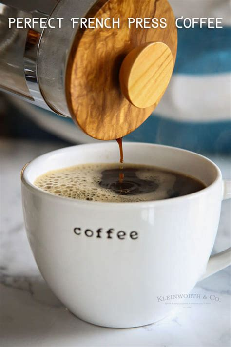 To make coffee using a french press, it is important to know how many cups the vessel holds. Perfect French Press Coffee with Bulletproof Coffee - Kleinworth & Co