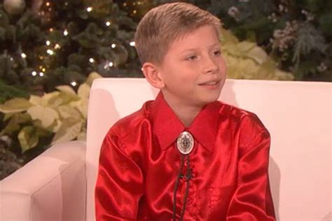 Mason Ramsey Reveals His Celeb Crush On 'ellen