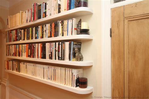 Floating Shelves Bookcase by Fitted Floating Shelves Empatika
