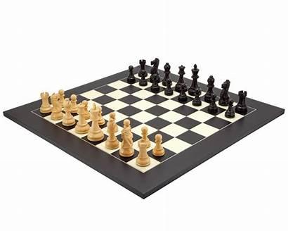 Chess Frankfurt Grand Board Staunton Sets Maple