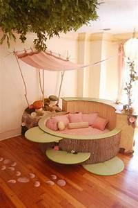 Lit Fille Original : lit original 1 chambre foret fille arbre picslovin ~ Teatrodelosmanantiales.com Idées de Décoration