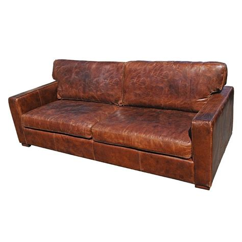 distressed brown leather sofa brown distressed leather sofa distressed leather sofas