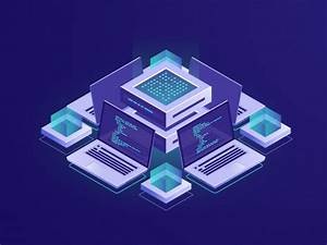 Medical Report Format Download Artificial Intelligence Isometric Icon Server Room