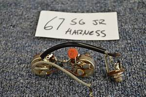 1967 Gibson Sg Jr Junior Wiring Harness