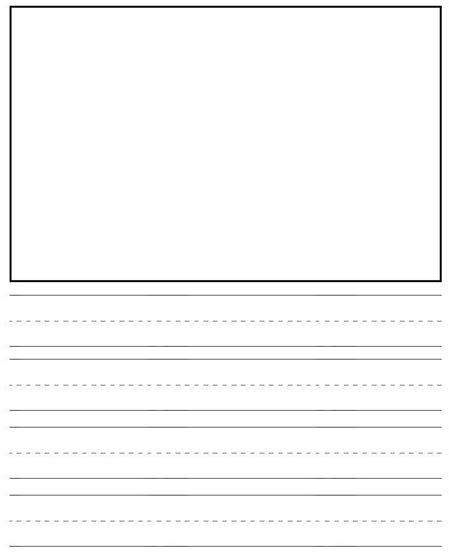 preschool handwriting paper 12 best images of kindergarten paper handwriting 858