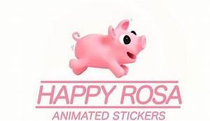 Facebook: La cerdita Rosa y su su segunda colección de stickers Tecnología Redes Sociales