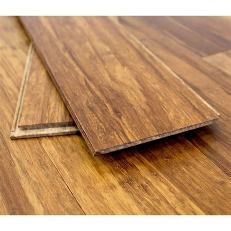 bamboo click flooring solid carbonised strand woven 125mm click bona coated bamboo