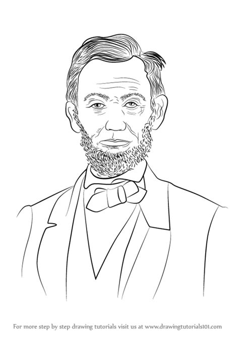 draw abraham lincoln video drawingtutorialscom