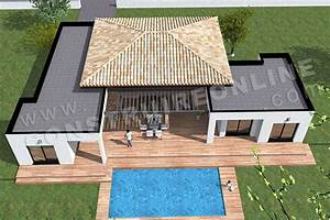 Maison 120m2 Plain Pied : awesome plan maison 120m2 plain pied 6 plan de maison moderne template do deco pod de maison ~ Melissatoandfro.com Idées de Décoration