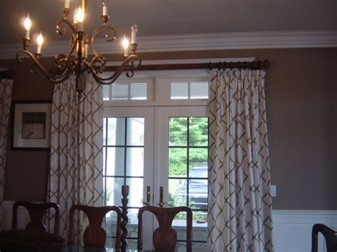 Drapes For Dining Room - home in kingston ma traditional dining room boston