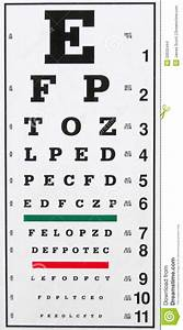 Eye Chart Stock Photo Image Of Patient Eyesight Lenses