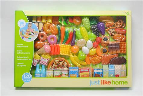 just like home 120pcs playfood set toys quot r quot us