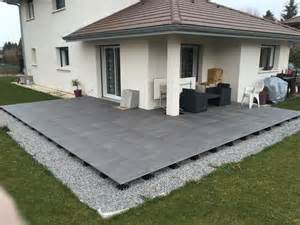 Pose Carrelage Terrasse Sur Dalle Béton by Pose Dalles Gr 232 S C 233 Rame Sur Plots 176 Messages