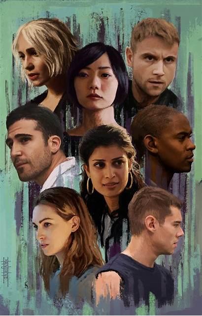 Sense8 Sense Bae Doona Netflix Film Poster