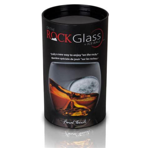 On The Rocks Glass And Ice Ball Mould  Iwoot