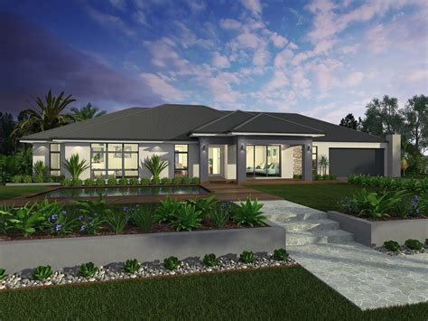 Acreage House Designs by Facades Mcdonald Jones Homes