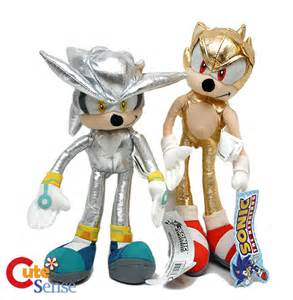Super Sonic the Hedgehog Plush Toys