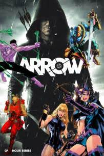 Arrow DC Comics Characters