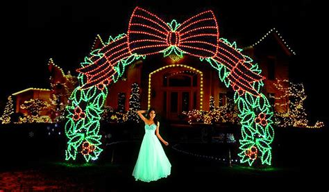 wedding party led light decoration  lover heavens gate