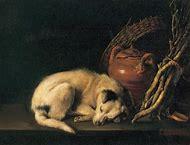 Gerrit Dou Sleeping Dog