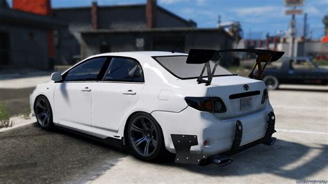 Toyota Corolla Altis Modification by 2010 Toyota Corolla Altis Xel Add On Tuning 1 0 For Gta 5