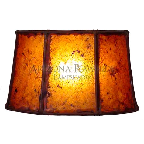 barrel table l rawhide shade arizona rawhide leather lshades for less