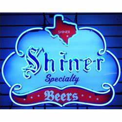 Shiner Specialy Beers Neon Sign