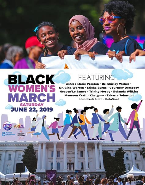 annual bwu black womens march