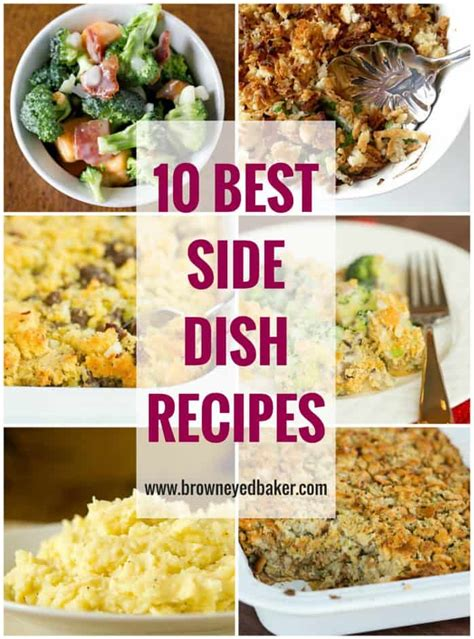 side recipes top 10 side dish recipes