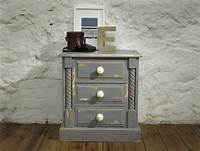 how to make shabby chic furniture Bedside Table in Rust-Oleum Chalky Finish Funiture Paint ...