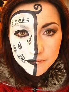 Modele Maquillage Carnaval Facile : se maquiller pour le carnaval de venise anniversaire enfant ~ Melissatoandfro.com Idées de Décoration