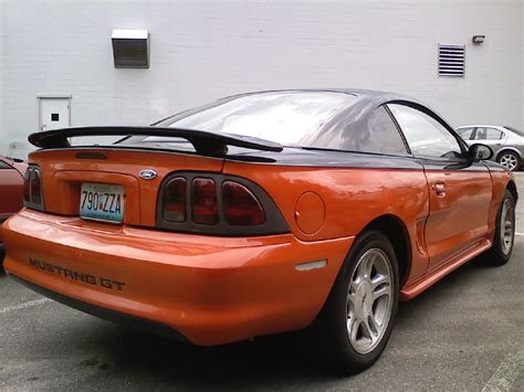 1995 Ford Mustang Gts Coupe, 1995 Ford Mustang 2 Dr Gts