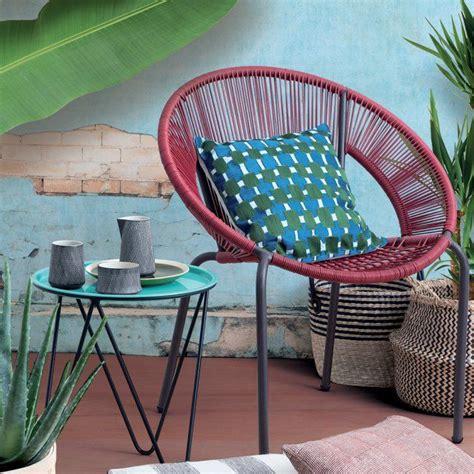 chaise de jardin monoprix
