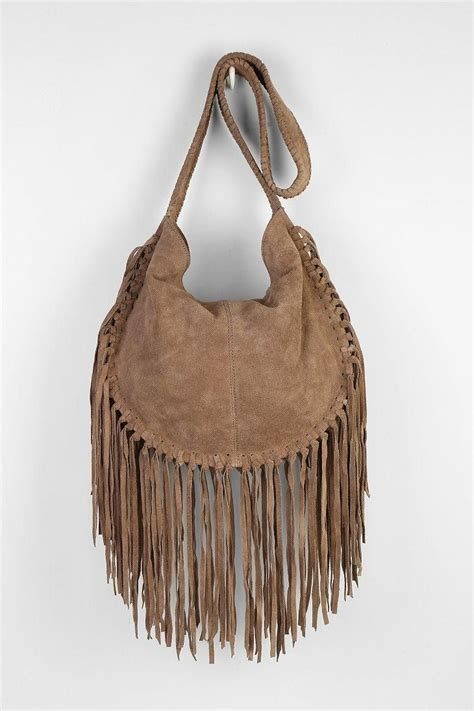 suede fringe bag  fashion bags