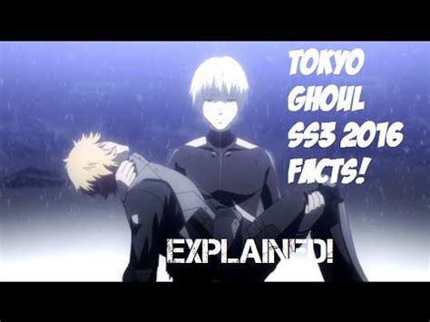 tokyo ghoul   explained season  tokyo ghoul
