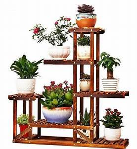 Mueble Para Macetas Decorativo Soporte 5 Estantes De