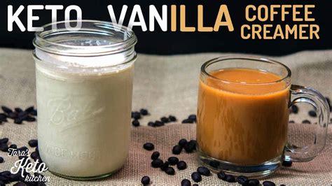 While the actual nutrition values of heavy. Vanilla Keto Coffee Creamer Recipe |0 carb| - Tara's Keto Kitchen