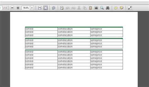 Xsl Table Display Xml Data For Pdf Generation